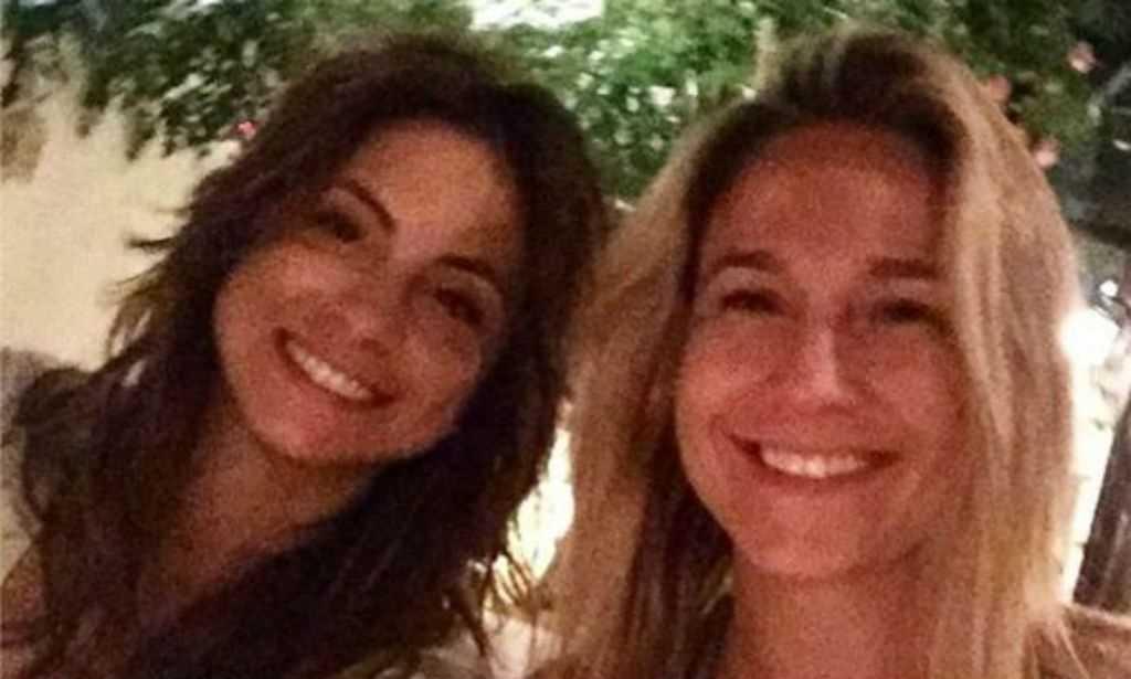 Fernanda Gentil posta primeira foto com a namorada no instagram