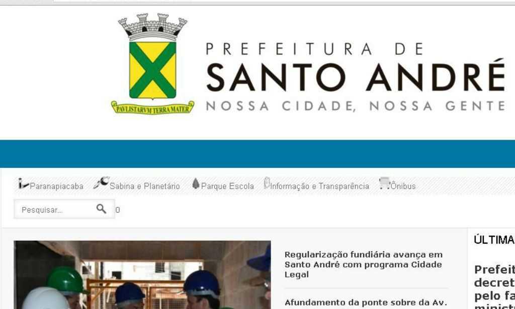 Reprodução/PMSA Diário do Grande ABC - Notícias e informações do Grande ABC: Santo André, São Bernardo, São Caetano, Diadema, Mauá, Ribeirão Pires e Rio Grande da Serra