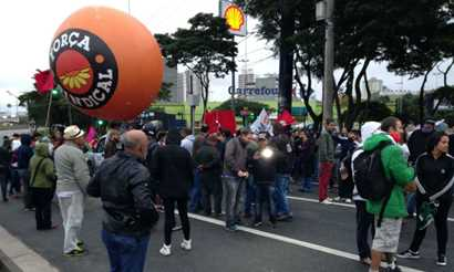Movimentos sindicais protestam sem tumultos na região Diário do Grande ABC - Notícias e informações do Grande ABC: Santo André, São Bernardo, São Caetano, Diadema, Mauá, Ribeirão Pires e Rio Grande da Serra