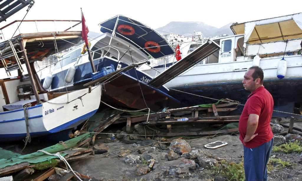 Terremoto deixa dois mortos na Grécia