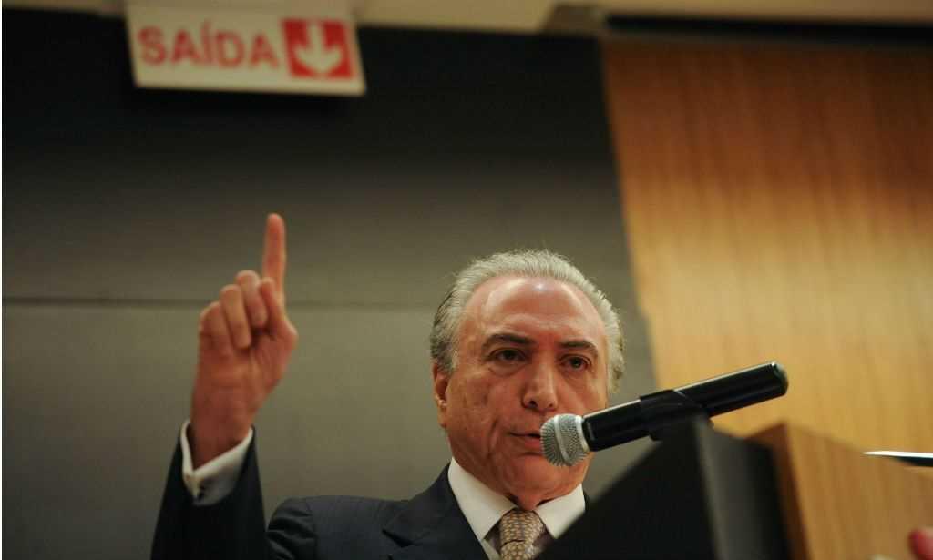Michel Temer acusado de obstrução e organização criminosa