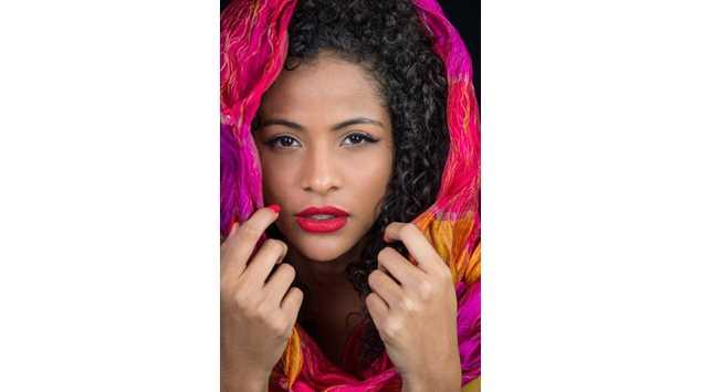 Miss Brasil vira obra de arte