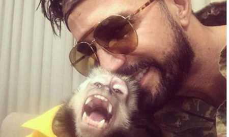 Macaco do cantor Latino morre atropelado no Rio Diário do Grande ABC - Notícias e informações do Grande ABC: Santo André, São Bernardo, São Caetano, Diadema, Mauá, Ribeirão Pires e Rio Grande da Serra