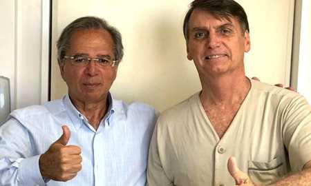 Bolsonaro recebe Paulo Guedes e posta foto no Twitter Diário do Grande ABC - Notícias e informações do Grande ABC: Santo André, São Bernardo, São Caetano, Diadema, Mauá, Ribeirão Pires e Rio Grande da Serra
