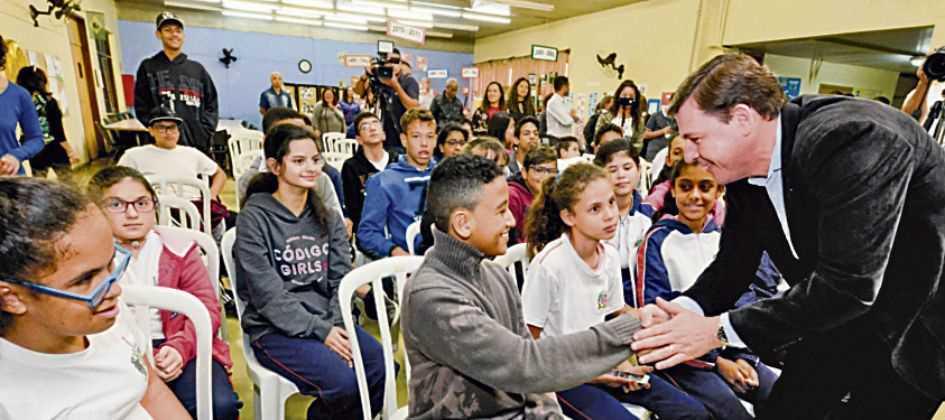 Gabriel Inamine/PMSBC  Diário do Grande ABC - Notícias e informações do Grande ABC: Santo André, São Bernardo, São Caetano, Diadema, Mauá, Ribeirão Pires e Rio Grande da Serra