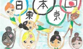 Jogos Olimpicos Representados Em Desenhos Diario Do Grande Abc