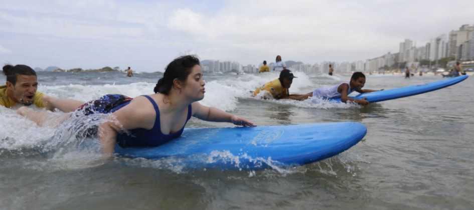 Surf ajuda na inclusão de deficientes Diário do Grande ABC - Notícias e informações do Grande ABC: Santo André, São Bernardo, São Caetano, Diadema, Mauá, Ribeirão Pires e Rio Grande da Serra