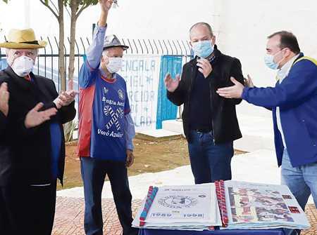 Bengala Azul recebe de volta sede ao lado do estádio Diário do Grande ABC - Notícias e informações do Grande ABC: Santo André, São Bernardo, São Caetano, Diadema, Mauá, Ribeirão Pires e Rio Grande da Serra