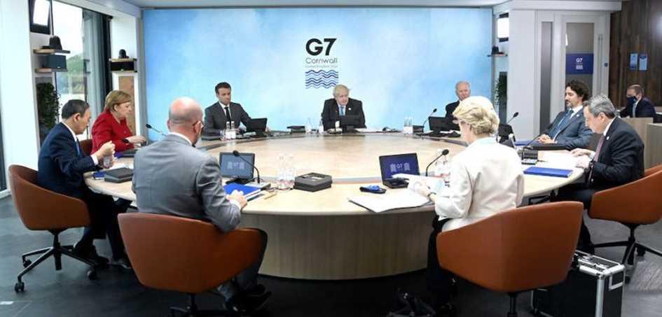 Líderes do G7 discutem emergência climática em último dia da cúpula Diário do Grande ABC - Notícias e informações do Grande ABC: Santo André, São Bernardo, São Caetano, Diadema, Mauá, Ribeirão Pires e Rio Grande da Serra
